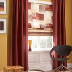 Curtains & Draperies of Indianapolis- Custom Styles at Affordable Prices - This is a picture of grommet draperies.  We like this style for a modern, contemporary or transitional look.