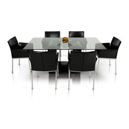 Vig 1836 dining table modern marble dining set unique u for U shaped dining room table