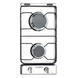 "Verona - Verona 12"" Gas 2 Burner Cooktop Stainless Steel - Whether you need a small cook top for an auxiliary cooking space or would like to have additional cooking power where you need it, the 12 inch Verona cook top fits the bill at an affordable price. These units feature one touch electronic ignition and seale 2 Sealed Burners: 1 x 10,000 Btu/hr, 1 x   6,000 Btu/hr
