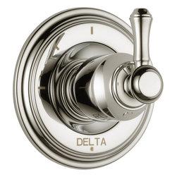 Delta Cassidy 3 Function Diverter Trim - Delta Cassidy 3 Function Diverter Trim, Brilliance® Polished Nickel Finish, T11897-PNLHP H597PN