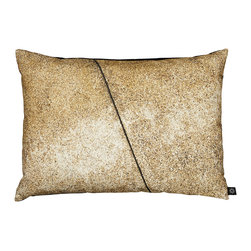 By Nord Copenhagen - Urban Concrete Wall Decorative Pillow - This pillow lets you take the city with you in true style, no matter where you live.  Adds a raw yet warm look. Printed as a digital photo print in the recognized cotton canvas quality from Danish firm By Nord.