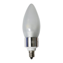 TorchStar - 3W Dimmable LED Candle Light E12 Base Bulb - 30W Incandescent Equivalent, Warm W - Overview