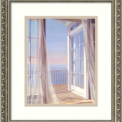 """Sea Breeze I"" Framed Print by Carol Saxe"