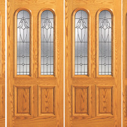 "Prehung Mahogany Arch Twin Lite Entry Double Door Two Side lights - SKU#    102-A-2-2Brand    AAWDoor Type    ExteriorManufacturer Collection    Unique Entry DoorsDoor Model    Door Material    WoodWoodgrain    MahoganyVeneer    Price    4256Door Size Options    2(30"")+2(12"") x 80"" (7'-0"" x 6'-8"")  $02(30"")+2(18"") x 80"" (8'-0"" x 6'-8"")  $02(32"")+2(12"") x 80"" (7'-4"" x 6'-8"")  $02(32"")+2(18"") x 80"" (8'-4"" x 6'-8"")  $02(36"")+2(12"") x 80"" (8'-0"" x 6'-8"")  +$402(36"")+2(18"") x 80"" (9'-0"" x 6'-8"")  +$402(42"")+2(12"") x 80"" (9'-0"" x 6'-8"")  +$3002(42"")+2(18"") x 80"" (10'-0"" x 6'-8"")  +$300Core Type    SolidDoor Style    TraditionalDoor Lite Style    Twin Lite , Arch Lite , 2/3 LiteDoor Panel Style    2 Panel , Raised MouldingHome Style Matching    Colonial , Plantation , VictorianDoor Construction    Engineered Stiles and RailsPrehanging Options    PrehungPrehung Configuration    Double Door with Two SidelitesDoor Thickness (Inches)    1.75Glass Thickness (Inches)    3/4Glass Type    Triple GlazedGlass Caming    BlackGlass Features    Insulated , TemperedGlass Style    Glass Texture    Glue ChipGlass Obscurity    Moderate ObscurityDoor Features    Door Approvals    FSCDoor Finishes    Door Accessories    Weight (lbs)    1190Crating Size    25"" (w)x 108"" (l)x 52"" (h)Lead Time    Slab Doors: 7 daysPrehung:14 daysPrefinished, PreHung:21 daysWarranty    1 Year Limited Manufacturer WarrantyHere you can download warranty PDF document."