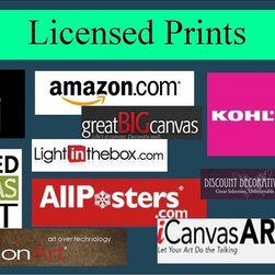 Licensed Prints at Retail Stores - An original oil painting is a purchase that is worth saving up for and enjoying for a lifetime.