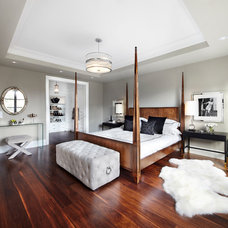 Transitional Bedroom by The Design Co