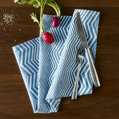 modern table linens by West Elm