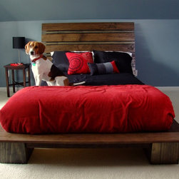 Modern Platform Bed - Modern Platform Bed by Chris Hill