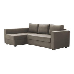 MÅNSTAD Corner Sofa-Bed with Storage - For those of you who'd like to have a sectional and sleeper sofa at the fraction of the typical price, Ikea carries just that kind of budget-friendly option, like this one.