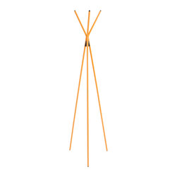 Eurostyle - Celia Coat Rack - Yellow -
