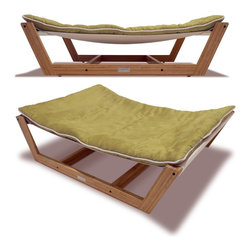 Pet Lounge Studios - Pet Lounge Studios Bambú Hammock II Kiwi Green Medium - The Bambu Pet Hammock II offers a completely unique approach to pet beds, incorporating the hammock style design and making it completely stand out. This hammock is made from the highest quality cushion which can be washed, and a unique mattress support system for ideal comfort and luxury. The best part about this design is that it can be incorporated anywhere within your home, and your pet will love it.