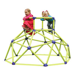 Toy Monster Monkey Bars Tower - How cool is this? Build your own old-school tower in your backyard. The lower height and sturdy construction look much safer too.