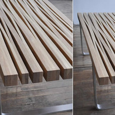 contemporary benches by bookhou