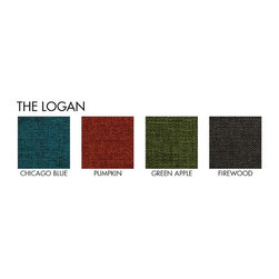 Apt2B - Logan Apartment Size Sofa, -Request A Sample of Fabric Swatches - Add a bit of vintage glamour to your space with the Logan. Sleek wood legs and button tufted back cushions take this modern shape to an elevated level. The ultimate show piece for your stylish room. Each piece is expertly handmade to order in the USA and takes around 2-3 weeks in production. Features a solid hardwood frame and upholstered in a textured poly-blend fabric.