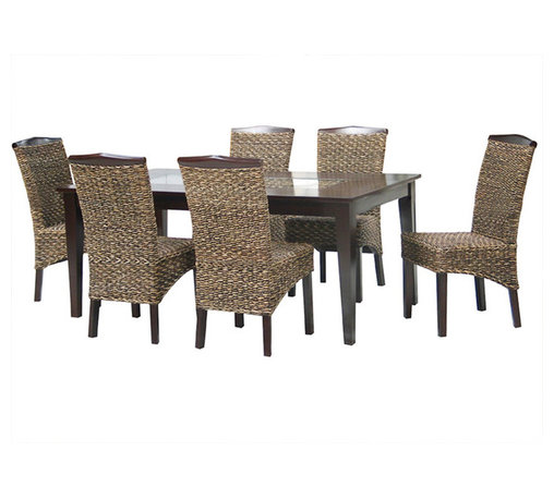 Canterbury Home Furnishing - Canterbury Batu 5-Piece Dining Room Set in Oasis - Clean lines and undeniable style - the main theses of Batu collection. Canterbury Batu 5 Piece Dining Room Set reflects a design suitable for any kitchen, to any requirement. Indulge yourself in the pleasure to use high-grade furniture, created from high quality materials, embodied in perfect shape.