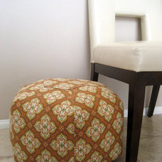 Eclectic Decorative Pillows Floor Cushion