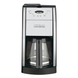 Cuisinart - Cuisinart Grind and Brew 12-Cup Automatic Coffeemaker - Automatically grinds whole beans before brewing
