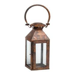 """Riado - Classic Mogador Lantern 11"""" BC - Double encased and rounded handles allow comfortable carrying"""