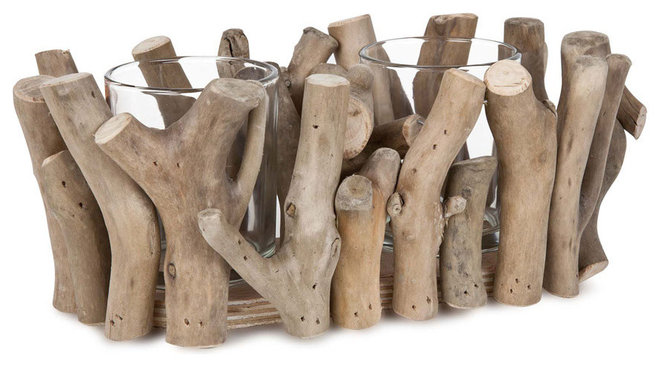 Rustic Candles And Candle Holders by ZARA HOME