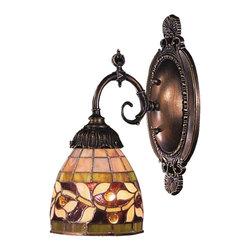 Elk Lighting - Elk Lighting 071-TB-13 Mix-N-Match Traditional Wall Sconce - Mix-N-Match 1-Light Sconce In Tiffany Bronze