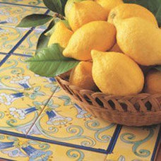 Mediterranean Tile by ITALIAN DECORATIVE ART by Romeo Cuomo