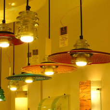 Eclectic Pendant Lighting by Railroadware