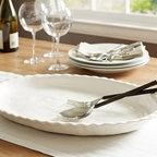Napoli Oval Serving Platter -
