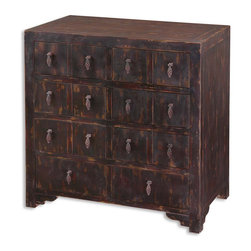 "24129 Linhai, Accent Chest by Uttermost - Get 10% discount on your first order. Coupon code: ""houzz"". Order today."