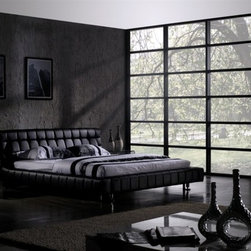Pakki Contemporary Bed Frame - The Pakki Contemporary Bed Frame brings unmatched style and distinction to your home.