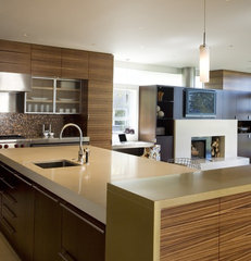 modern kitchen by Concreteworks
