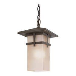 Trans Globe 1 Light Hanging Lantern with Antique Rust Finish - 40014 AR - 1 Light Hanging Lantern with Antique Rust Finish by Trans Globe Lighting - 40014 ARUPC: 736916589857Suitable for Use: For outdoor useGlass E-com Description: Tea Stain Rectangle, open bottomUL listed for wet locationscomes with 3' chain and wireprotective angle roofMission style outdoor décorMatching outdoor collectionWarranty Info: 1 Year Limited parts repair and replacement