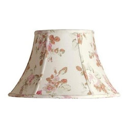 Laura Ashley - Laura Ashley Stowe 14 in. Floral Bell Shade SLL25114 - Shop for Lighting & Fans at The Home Depot. Founded in 1953, Laura Ashley has become a quintessential English brand, synonymous with quality, creativity, and individuality. Laura Ashley products are recognized worldwide for their colorful patterns and iconic floral prints. This floral Laura Ashley lamp shade is made of cotton, and will be a vibrant addition to any room.