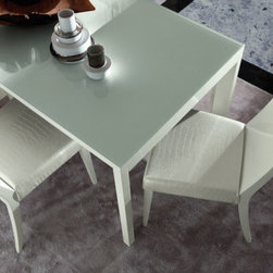 """Rossetto USA - Nightfly Side Chair (Set of 2) - Features: -Set of 2 chairs.-Made in Italy.-Collection: Nightfly.-Distressed: No.-Powder Coated Finish: No.-Gloss Finish: Yes.-Frame Material: MDF.-Solid Wood Construction: No.-Non-Toxic: Yes.-Scratch Resistant: No.-Rust Resistant: No.-Stain Resistant: No.-Fire Retardant: No.-Mildew Resistant: No.-Arms Included: No.-Upholstered Back: No.-Foldable: No.-Number of Legs: 4.-Leg Material: Glossy lacquer.-Casters: No.-Protective Floor Glides: No.-Adjustable Height: No.-Ergonomic Design: No.-Saddle Seat: No.-Outdoor Use: No.-Swatch Available: No.-Commercial Use: No.-Recycled Content: No.-Product Care: Wipe clean with a dry soft cloth.-Country of Manufacture: Italy.Dimensions: -Overall Height - Top to Bottom: 40"""".-Overall Width - Side to Side: 19"""".-Overall Depth - Front to Back: 23"""".-Arms: No.Assembly: -Assembly Required: No.-Additional Parts Required: No.Warranty: -Manufacturer provides one year warranty against manufacturing defects."""