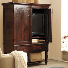 traditional storage units and cabinets by Pottery Barn