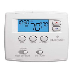 "WHITE RODGERS - PROGRAMMABLE DIGITAL THERMOSTAT 1F80-0261 - | White Rodgers 1F80-0261 | Blue 2"" display 