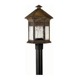 Hinkley Lighting - Hinkley Lighting 2991SN Westwinds Outdoor Lantern in Sienna - Hinkley Lighting 2991SN Westwinds Outdoor Lantern in Sienna