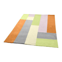 """Blancho Bedding - Onitiva - [Paradise] Soft Coral Fleece Patchwork Throw Blanket (59""""-78.7"""") - This Coral Fleece Patchwork Throw Blanket measures 59 by 78.7 inches. Comfort, warmth and stylish designs. Whether you are adding the final touch to your bedroom or rec-room these patterns will add a little whimsy to your decor. This Coral Fleece Patchwork throw blanket will make a fun additional to any room and are beautiful draped over a sofa, chair, bottom of your bed and handy to grab and snuggle up in when there is a chill in the air. They are the perfect gift for any occasion! Keep one in your car for staying warm at  outdoor sporting events. Place one on your couch or favorite upholstered chair. Have extras on hand for sleepovers and overnight guests. Machine wash and tumble dry for easy care. Will look and feel as good as new  after multiple washings!"""