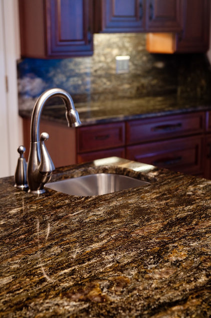 Modern Kitchen Countertops by Granite Grannies