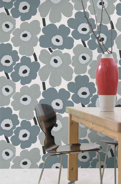 Modern Wallpaper by Textile Arts