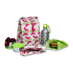 Kids Konserve - This is the whole kit, including drink container, napkins and sandwich bag.