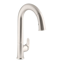 KOHLER - KOHLER K-72218-VS Sensate Touchless Kitchen Faucet - KOHLER K-72218-VS Sensate Touchless Kitchen Faucet in Vibrant Stainless