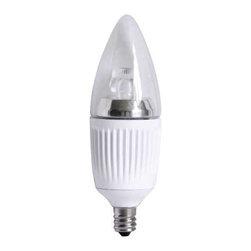 AF Lighting - Led Candelabra 4 Watt Bulb Dimmable 25,000 Hours Average Life 3000K - LED Candelabra bulb Dimmable LONG LIFE 25,000- hours average life 3000 Kelvins, 4W, E12 Socket UL listed