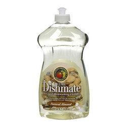 Earth Friendly Dishmate - Almond - 25 Oz - Case Of 6 - A Liquid Dishwashing Cleaner