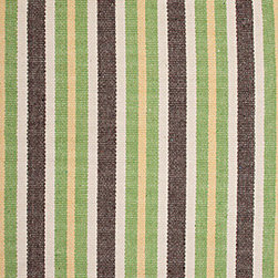 Hook & Loom Rug Company - Sandisfield Rug - Very eco-friendly rug, hand-woven with yarns spun from 100% recycled fiber.  Color comes from the original textiles, so no dyes are used in the making of this rug.  Made in India.