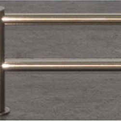 Top Knobs - Top Knobs Hopewell Bath 30 in. Double Towel Rod - Top Knobs Hopewell Bath 30 in. Double Towel Rod   Cabinet Hardware