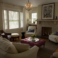Traditional Living Room by Marcelle Guilbeau, Interior Designer