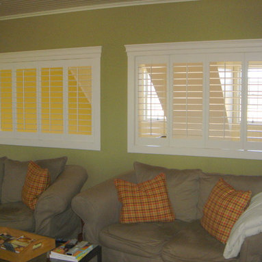 Great Room Shutters - Plantation shutters
