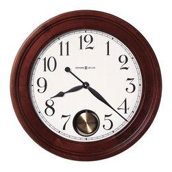 "Howard Miller - Howard Miller 25"" Gallery Quartz Pendulum Wall Clock | GRIFFITH - 625314 GRIFFITH"