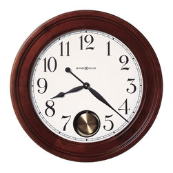 "Howard Miller - Howard Miller 25"" Gallery Quartz Pendulum Wall Clock 