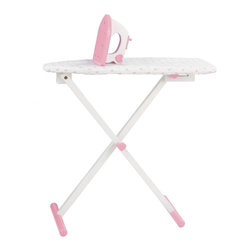 KidKraft - Tiffany Ironing Board Set by Kidkraft - With our Tiffany Bow Ironing Set, kids can feel all grown up and practice ironing their own clothes. Pesky wrinkles won't stand a chance.